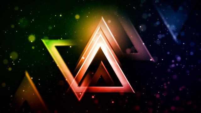 triangle wallpaper