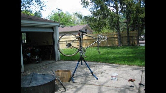 Rebuilding Liz's Bike