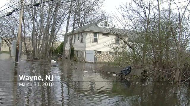 Wayne / Passaic River 2nd Flood - March 2010 on Vimeo