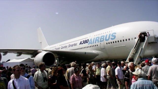 Airbus A380 @ ILA Berlin