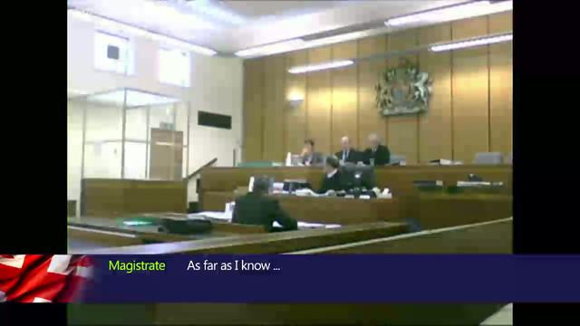 English Freeman Standing In Court - Gloucester Court 29th Jan 2010 - Part 1