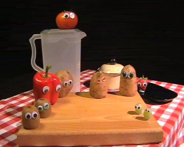 Animated Vegetables
