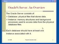 الدرس الأول من Oracle DBA
