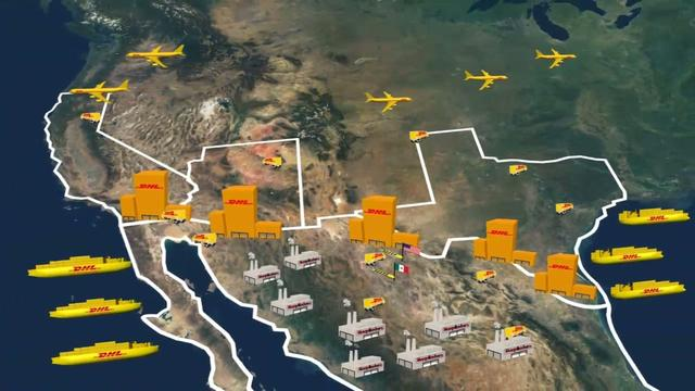 This way to the border - dhl global forwarding nafta southern border