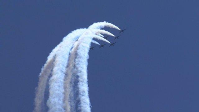 Red Bull Air Race aerobatics