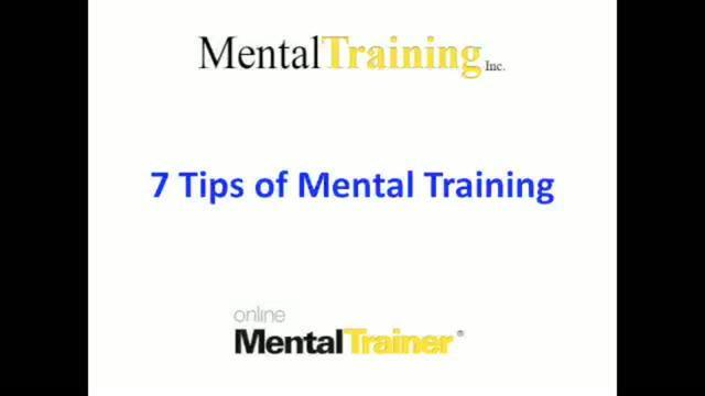7 Tips of Mental Training on Vimeo