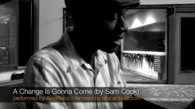 Aloe Blacc - A Change is Gonna Come (allucanbeat.com Remix)