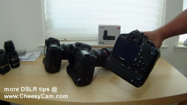 Canon EOS 550D T2i Battery Grip BG-E8 - Rare