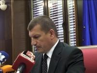 (www.vest.si) Dragutin Mate novinarska konferenca o aretaciji Boštjana Penka in Ivana Zidarja