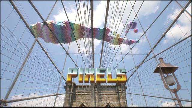 Короткометражка PIXELS онлайн