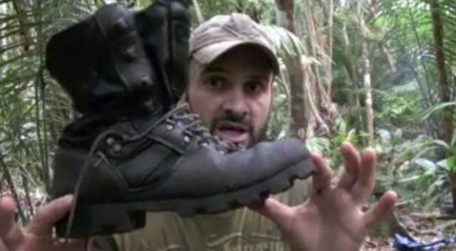 Altberg Jungle Boots Promotional Video by Ed Stafford - Walking the Amazon