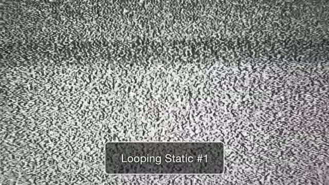 Free High Definition TV Static Stock Footage