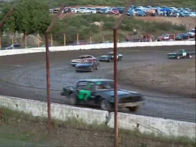 Pure Stock Heat 3 Barona Speedway 4-10-2010
