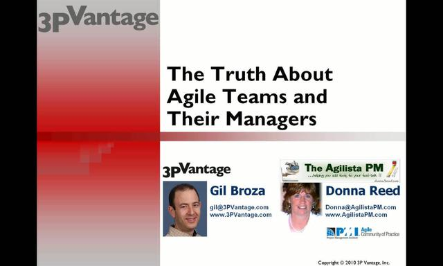 The Truth About Agile Teams and Their Managers
