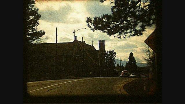 Bend, Oregon US97 in 1967 (8 MM Movie) (Pilot Butte Inn)