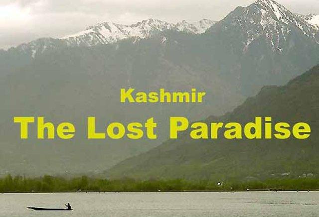 kashmir a lost paradise
