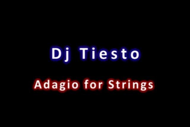 Tiesto - Adagio For Strings (James Dymond   - SoundCloud