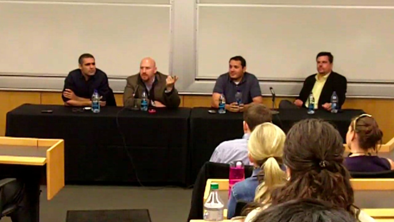 PointAbout Founders Speak at George Washington University MBA Lecture Series