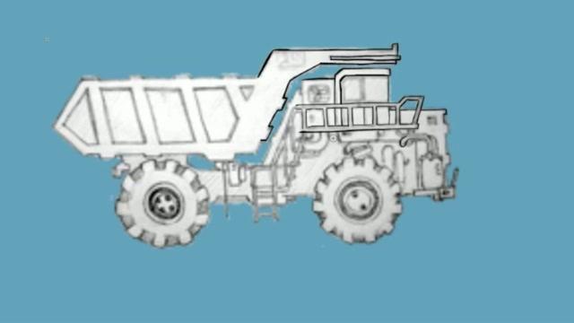 Draw a truck