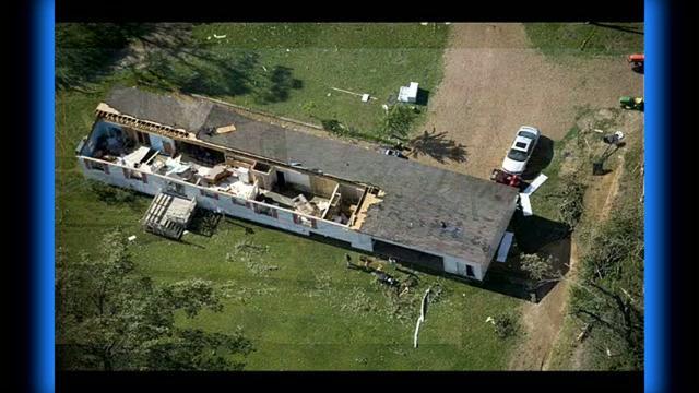 Huge Tornado Hits Mississippi