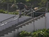 2003 Inline Skating video by Jan Welch. This is the sequel to United Front which was released back in 2000. Features profiles on Nick Wood, Gonzo Jaquez, Damien Wilson, Chase Rushing and Connor O'Brien. Skating from Brian Shima, Jon Elliott, Dustin Latimer, Brandon Campbell, Chris Haffey, Alex Broskow and many more.