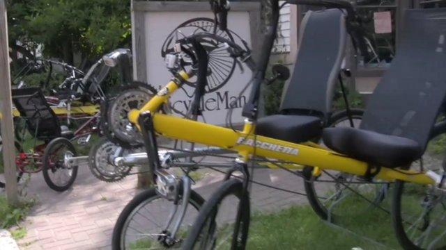 Recumbent Bikes & Trikes Oh My!