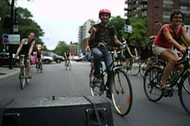 Masse Critique Montréal, 29 août 2008