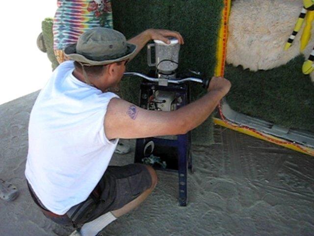 Gas Powered Blender