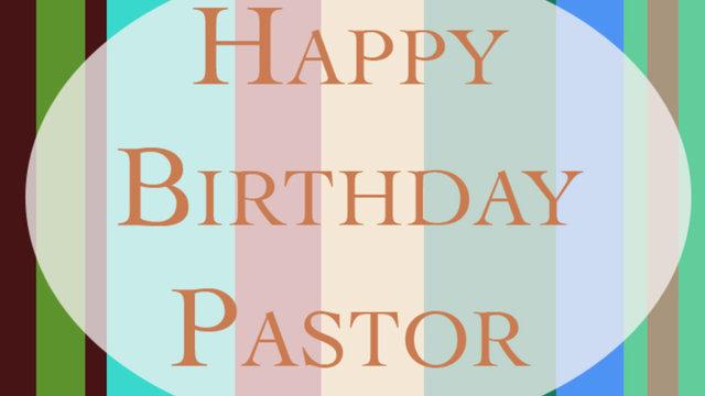 Pastor Giardino 50th Birthday On Vimeo Happy Birthday Wishes For A Pastor
