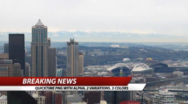 Breaking News lower third designs on Vimeo