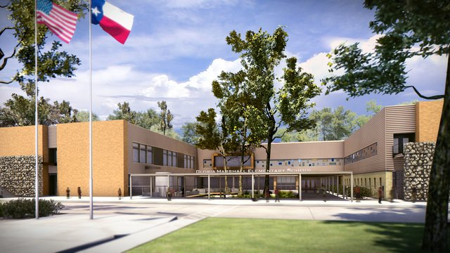 Marshall Elementary, Spring ISD&rsquo;s first LEED school