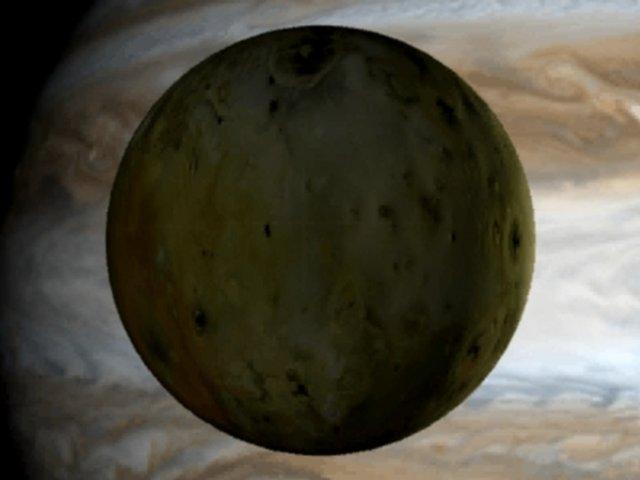 Io y Júpiter