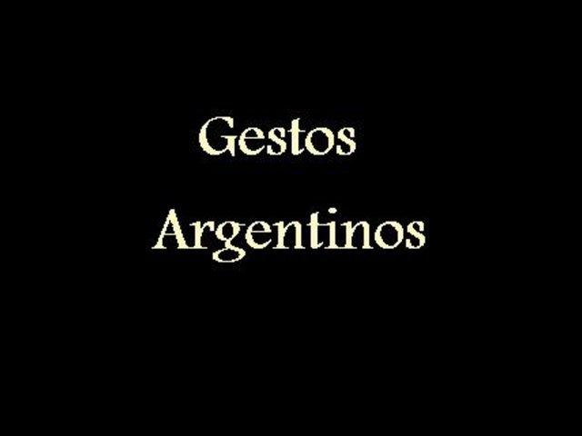 Gestos Argentinos on Vimeo