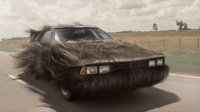 If your car had long flowing hair it would look like this.