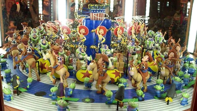The Toy Story Zoetrope