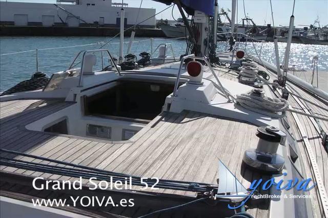 Velero Grand Soleil 52 de YOIVA yacht broker & services