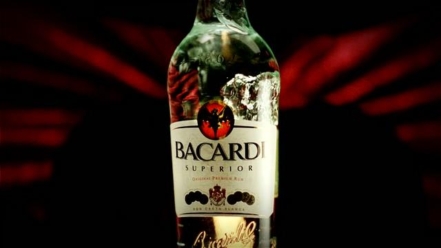Bacardi / Packshot Exercise