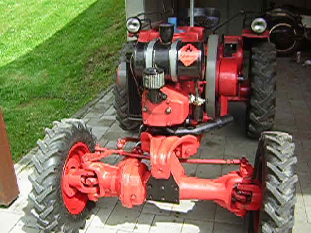 Spin around lindner tractor HL JW 20 A 1955