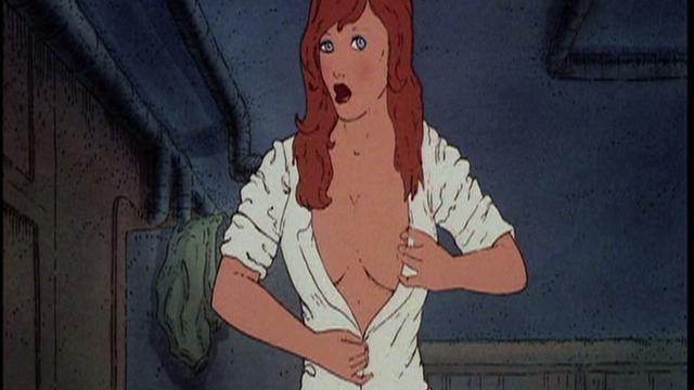 Heavy metal den sex scene