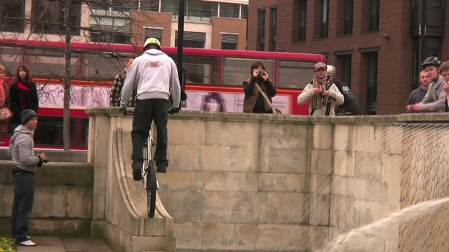 Biketrial London (1st March 2009)