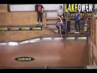 This section of our video starts out with some of our inline campers and staff giving you a glimpse into the life of an inline skater here at Lake Owen. We've got some contest footage, staff demo, camper skills, vert party,  and a look back at our old indoor park.  I hope you enjoy the footy.