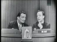 Salvador Dali on Tv show - WHAT'S MY LINE