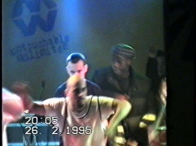 Radical Stuff,Next diffusion ,Sangue Misto @Zulu Hip Hop party 26 02 1995 @ Venezia -(3) rec by Strifu