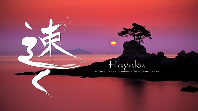Hayaku: A Time Lapse Journey Through Japan