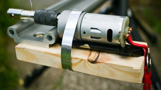 DIY Motion Timelapse Dolly system Mk2 - Canon 7D