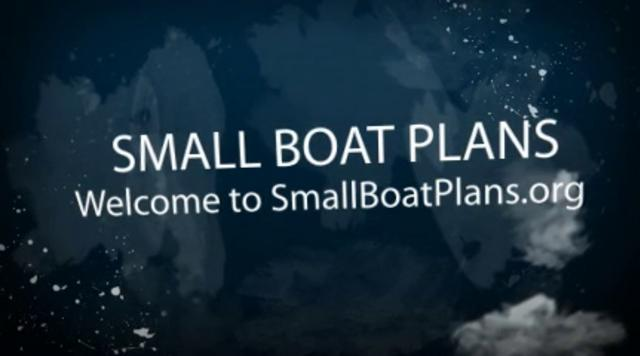 Small Boat Plans, free Boat Building Plans on Vimeo
