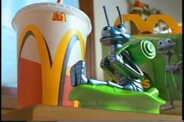 Bug's Life McDonald's