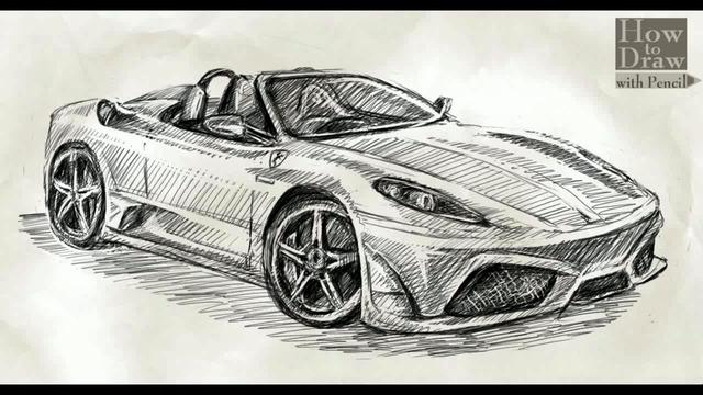 how to draw ferrari drawing a base line apps directories. Cars Review. Best American Auto & Cars Review