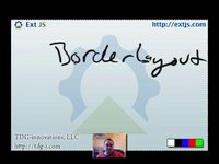 thumbnail for Border Layouts Screencast on Sencha Learn