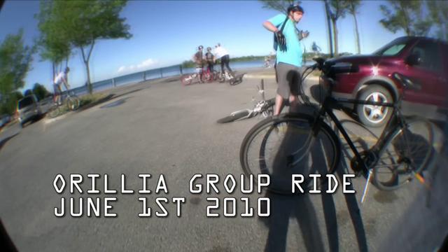 Orillia Group Ride